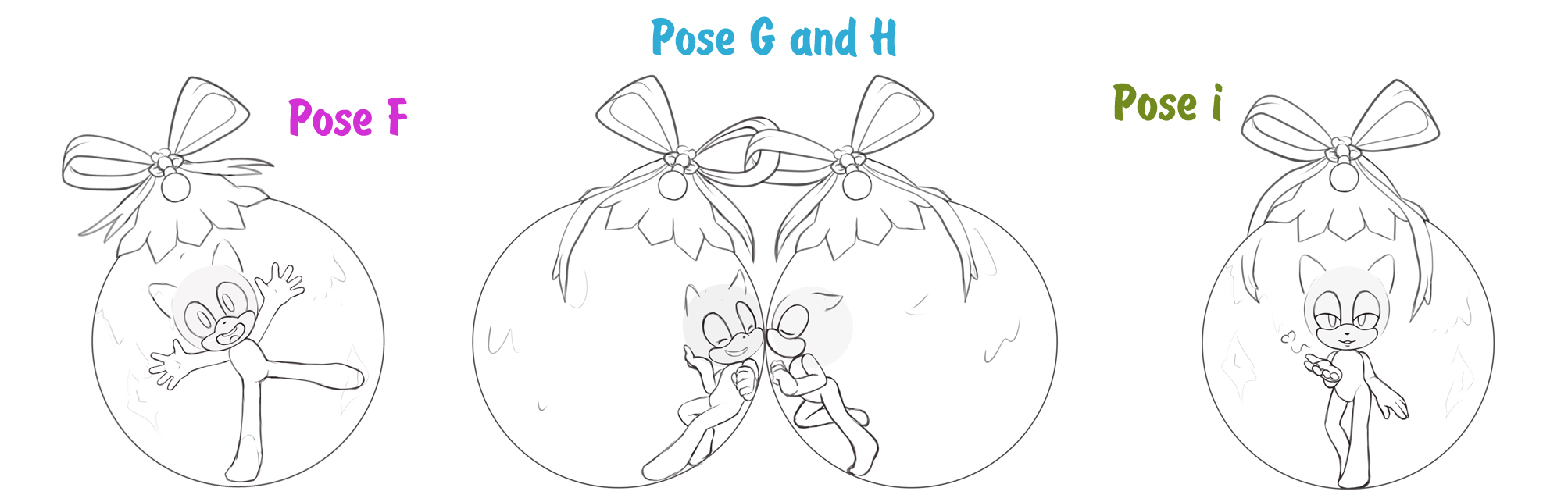 YCH OPEN - Christmas balls. Set 2 by KetLike on DeviantArt