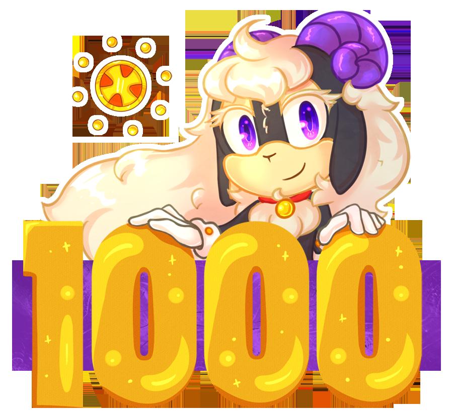 1000 Watchers! by KetLike