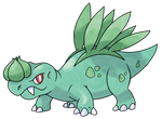 Saurabulb the Bulbasaurus Fakemon