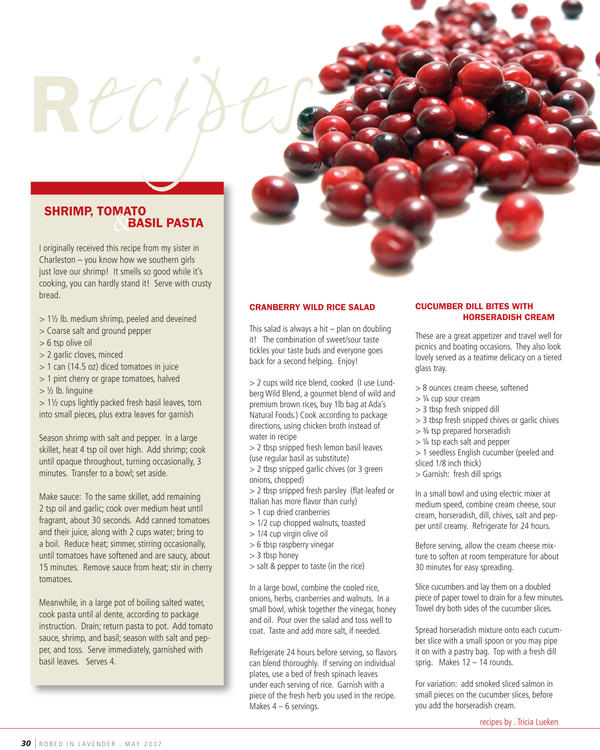 Recipe Layout by aCleverTitleGoesHere