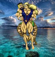 NAMORA and HERCULES at sea by crisshapes