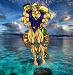 NAMORA and HERCULES at sea