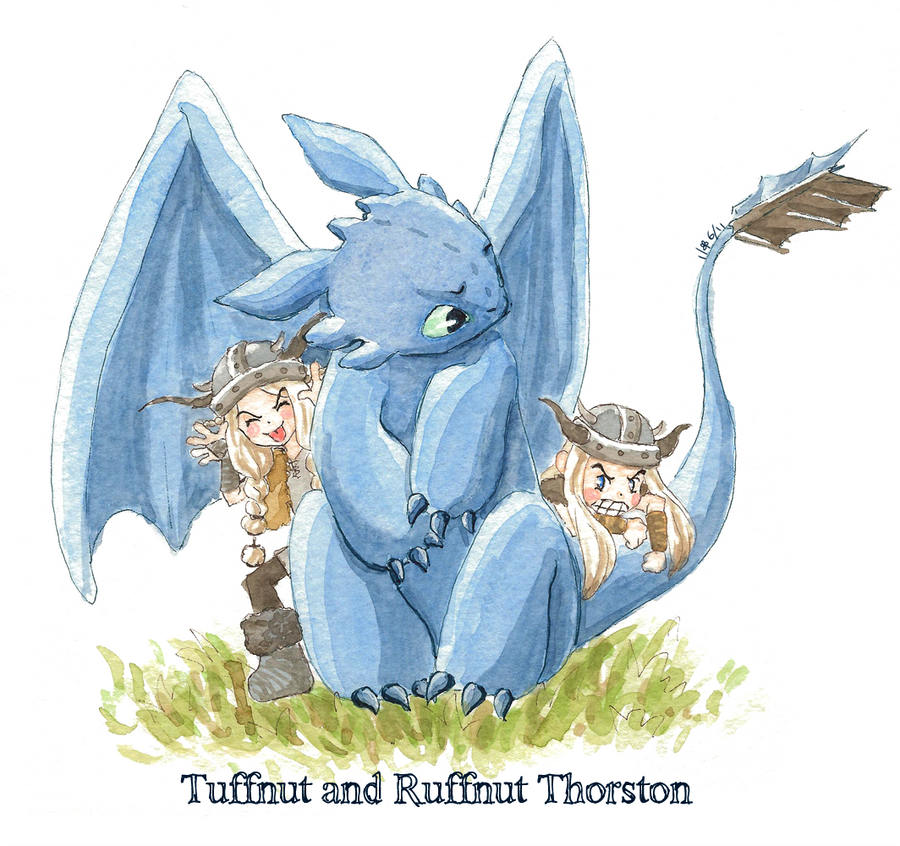 how to train your dragon tuffnut