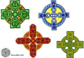 Flash - Celtic Crosses 1 by sidneyeileen