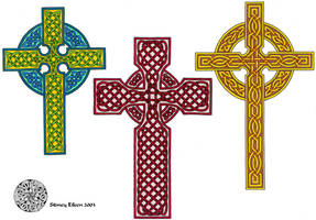 Flash - Celtic Crosses 2 by sidneyeileen