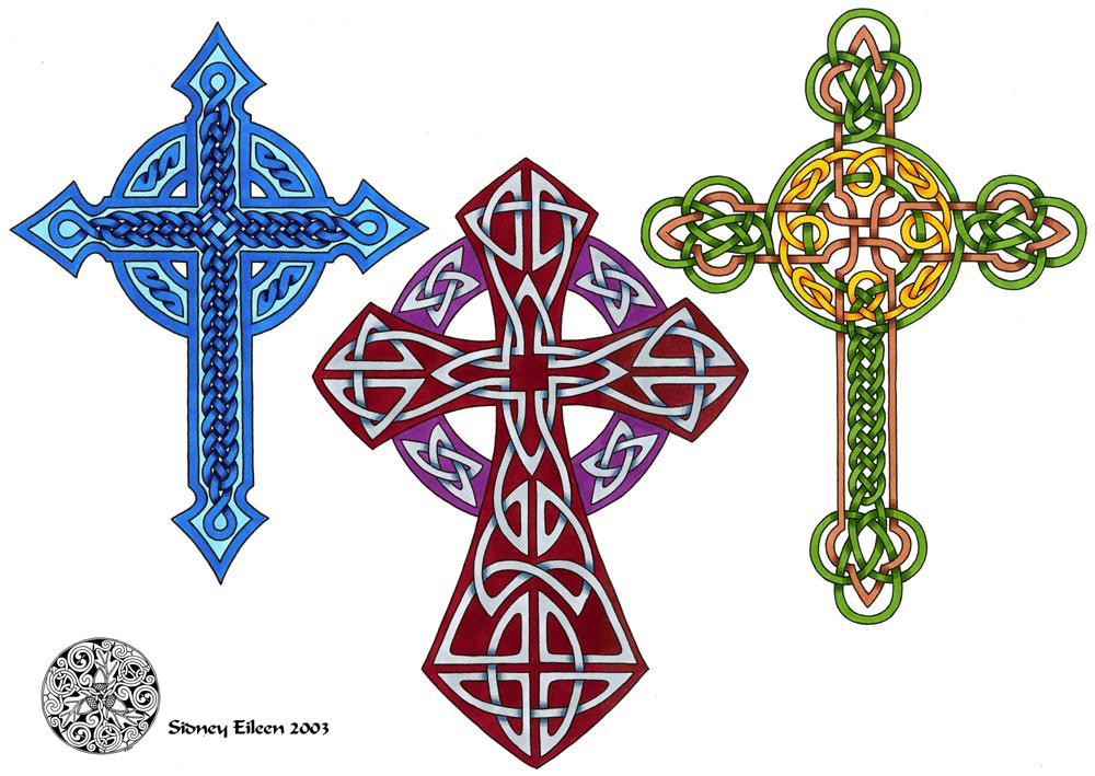 Flash - Celtic Crosses 3 by sidneyeileen