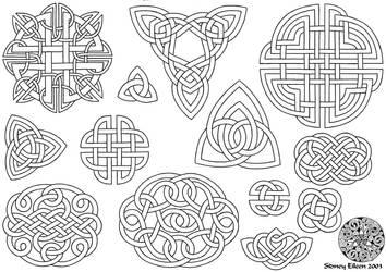 Flash - Celtic Knots 1 Line by sidneyeileen