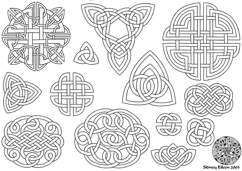 79 best images about Celtic knot on Pinterest | Oak leaves ...
