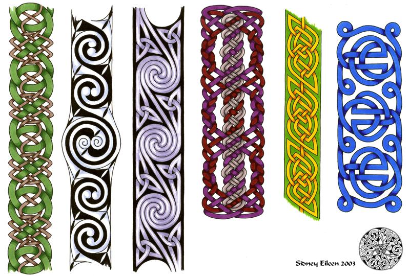flash celtic bands 1 by sidneyeileen on deviantart. Black Bedroom Furniture Sets. Home Design Ideas