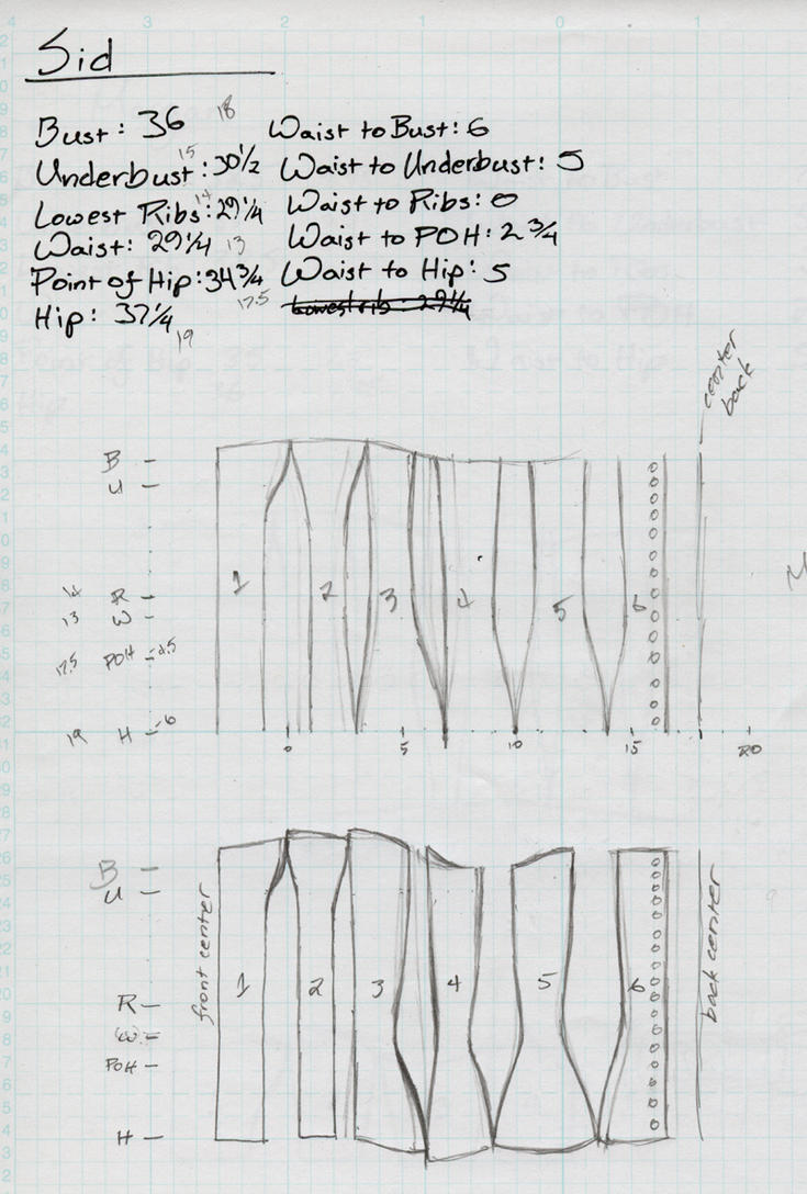 Victorian Corset - Pattern by sidneyeileen