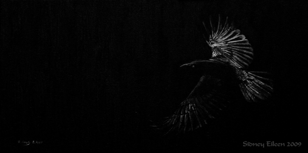 As The Raven Flies by sidneyeileen