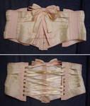 Silk Ribbon Corset - Flat