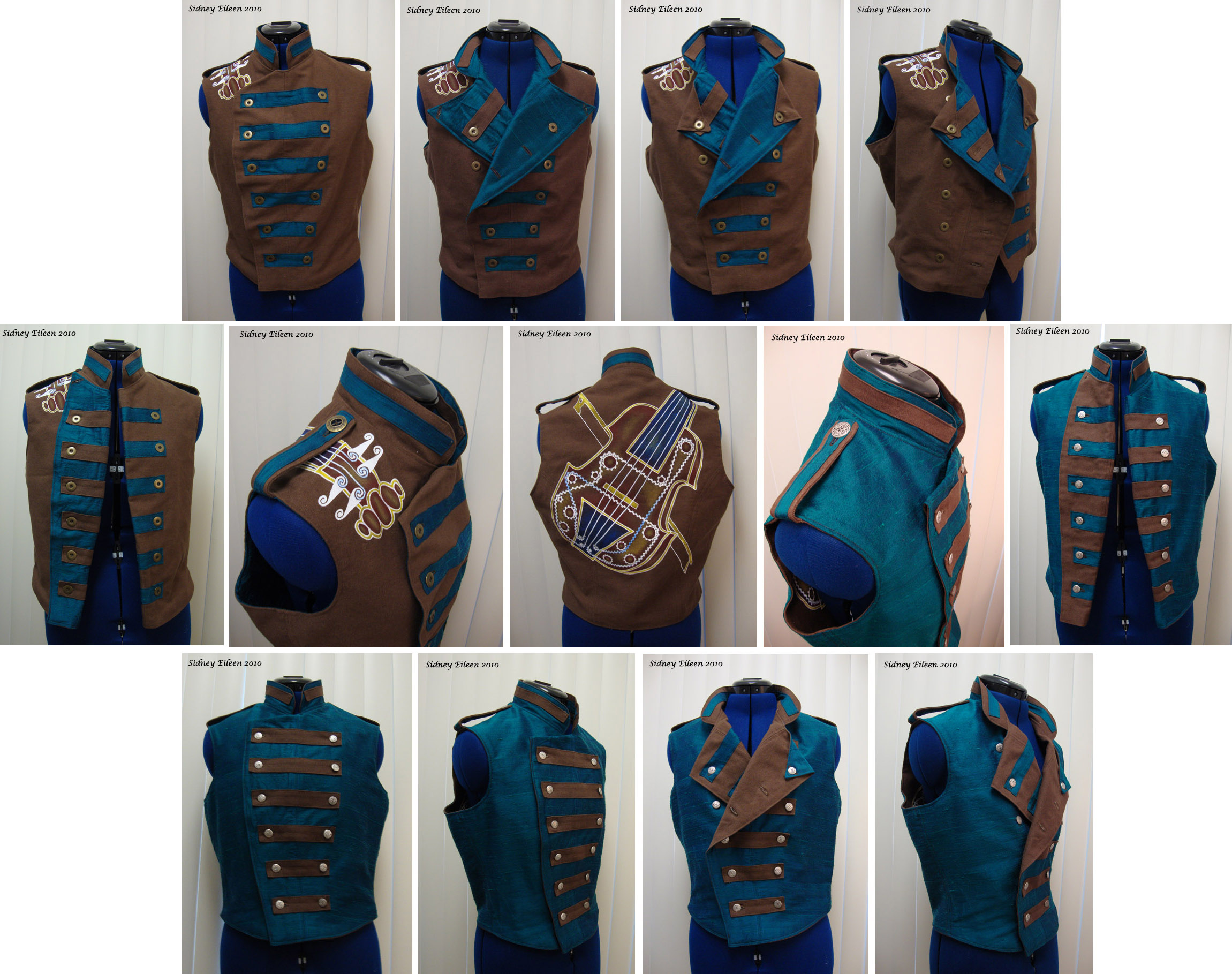 Violin vest prototype by sidneyeileen on deviantart for How to make a prototype shirt