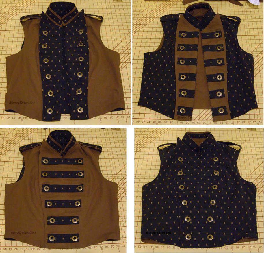 Men's Reversible Vest by sidneyeileen