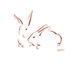 M. Two Bunnies 1