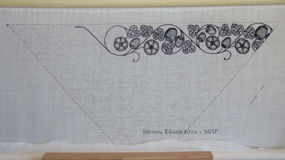 Blackwork-forehead-cloth-wip4 by sidneyeileen