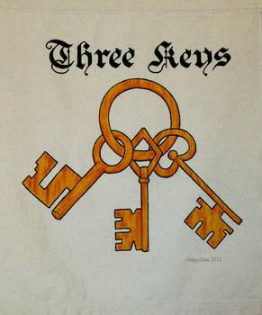 Three Keys Sign Banner