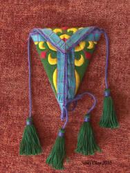 Embroidered Scissor Case