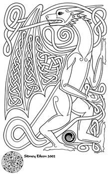 Knotwork Dragon