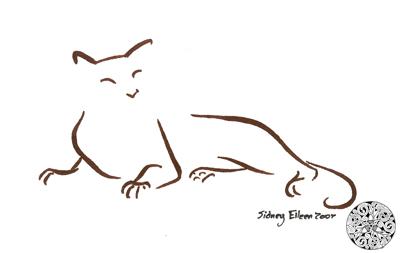 Minimalist Cat 11 by sidneyeileen