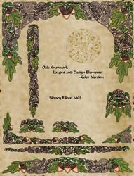 Oak Knotwork Designs - Color
