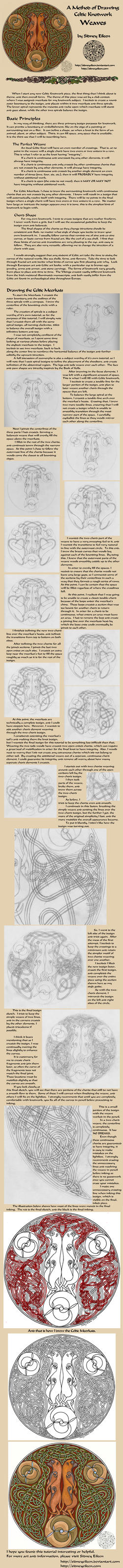Drawing Celtic Knots - Weaves by sidneyeileen
