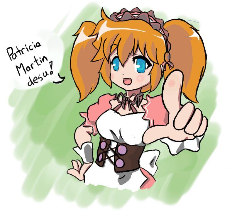 Mi-mi-racle Girl Patricia by V2Buster