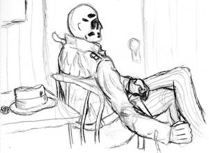 A Comedian Died Tonight-- WIP