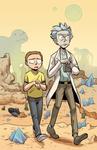 Rick and Morty Print