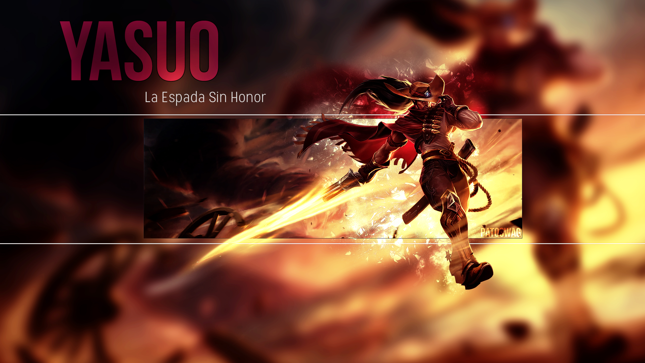 Yasuo Wallpaper League of Legends by PatoSwag on DeviantArt