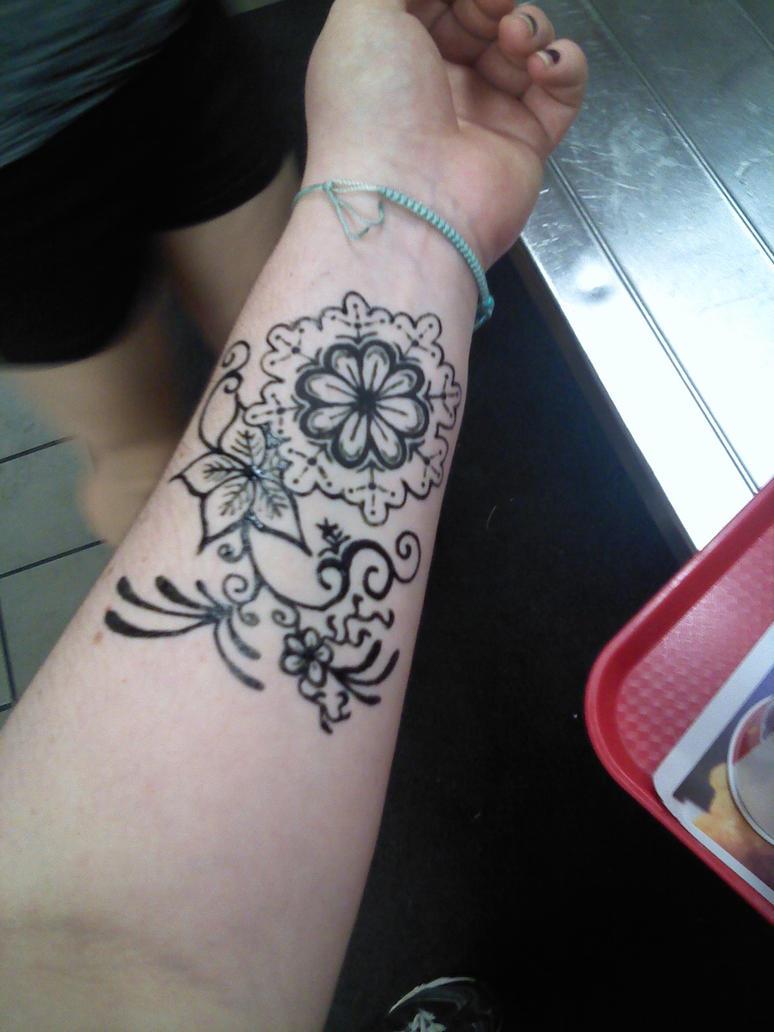 Jagua Tattoo: Jagua Tattoo I Got Today By Starlight-staynight On DeviantArt