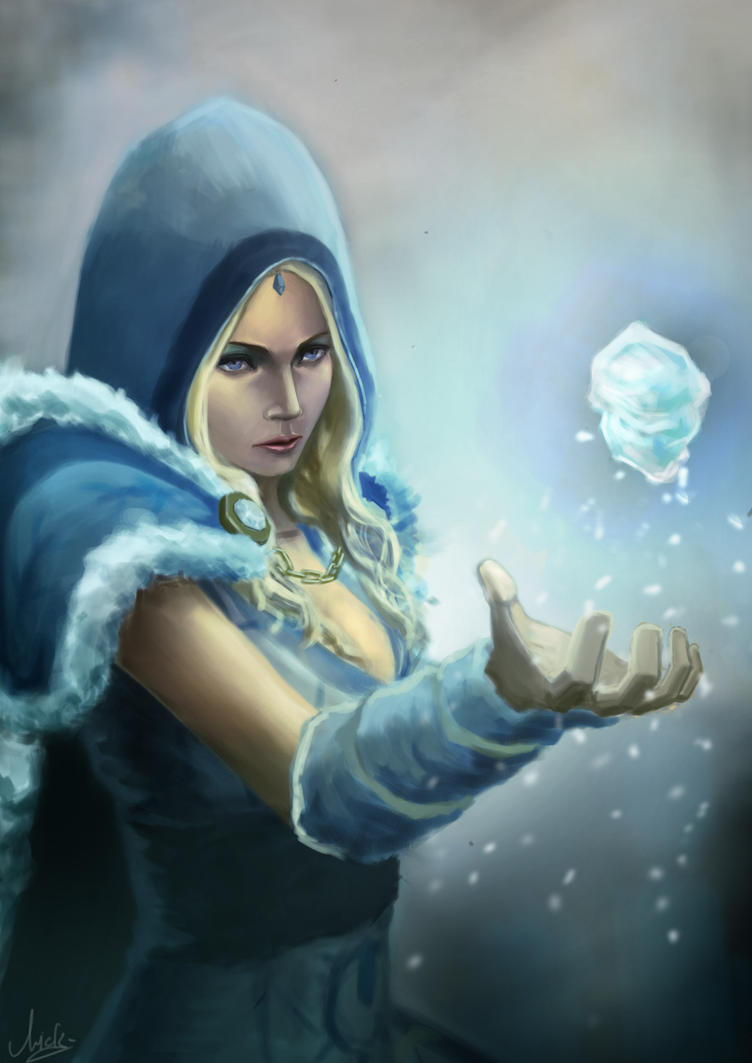 Dota 2 Wallpaper Crystal Maiden Crystal Maiden  Dota 2 by