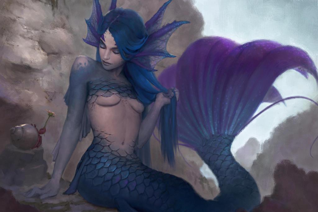 #003 Mermaid by DigitalSashimi