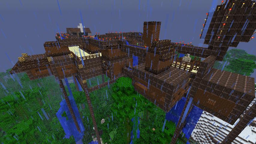 Minecraft city under construction by darthkaiser on deviantart - Video minecraft construction ...