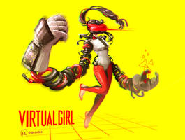 Virtual Girl by DraNKa