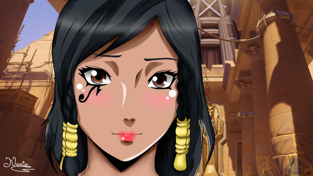 Pharah (Fareeha Amari) by Nanin-Uch1ha