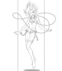 Lineart - Wind by Gabbi