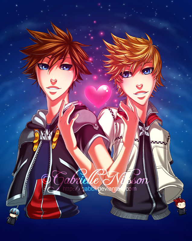 Kingdom Hearts by Gabbi