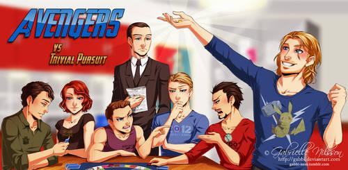 Avengers vs Trivial Pursuit by Gabbi