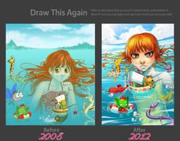 Draw this again - Sea of Dreams by Gabbi
