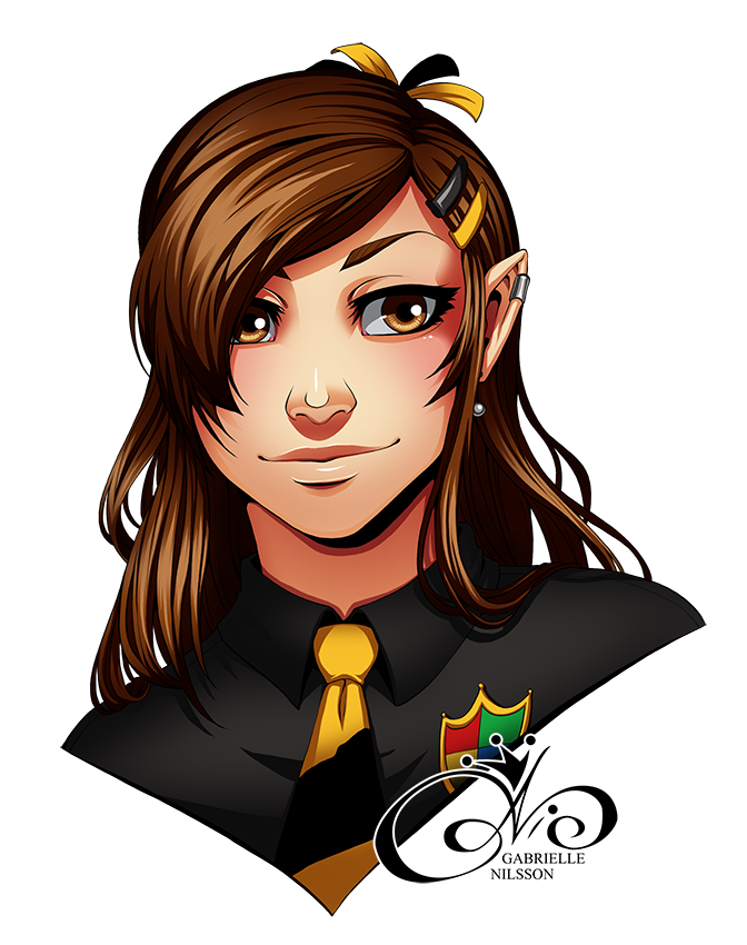Portrait Commission - Queen7d by Gabbi