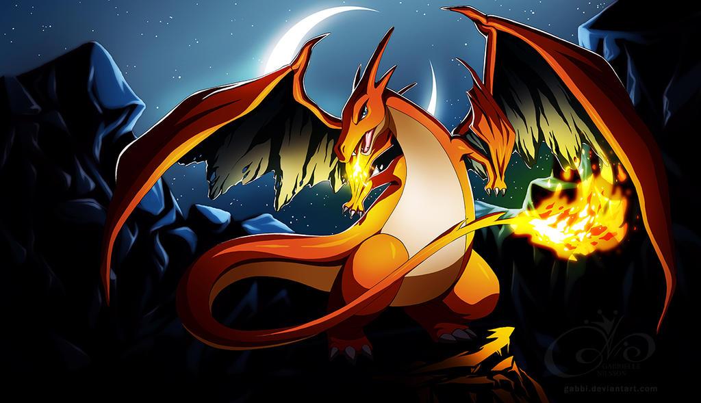 Pokemon - Mega Charizard by Gabbi on DeviantArt