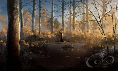 When the forest dies by Gabbi
