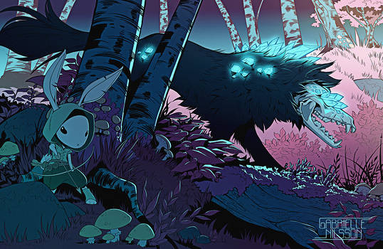 The Crystal Forest by Gabbi