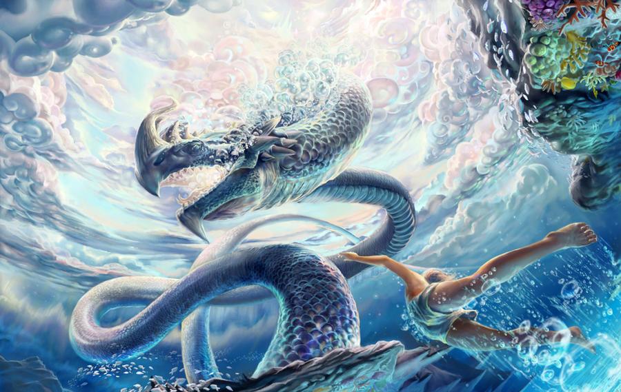 Imagination about King of Naga