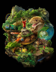 SiamOceanWorld - Jungle Theme