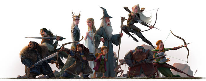 The Hobbit and The Load of the Ring : Fanart