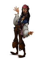 Fanart - Character from Pirate of The Caribbean