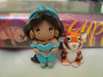 Aladdin- Mini Jasmine Charm with Raja
