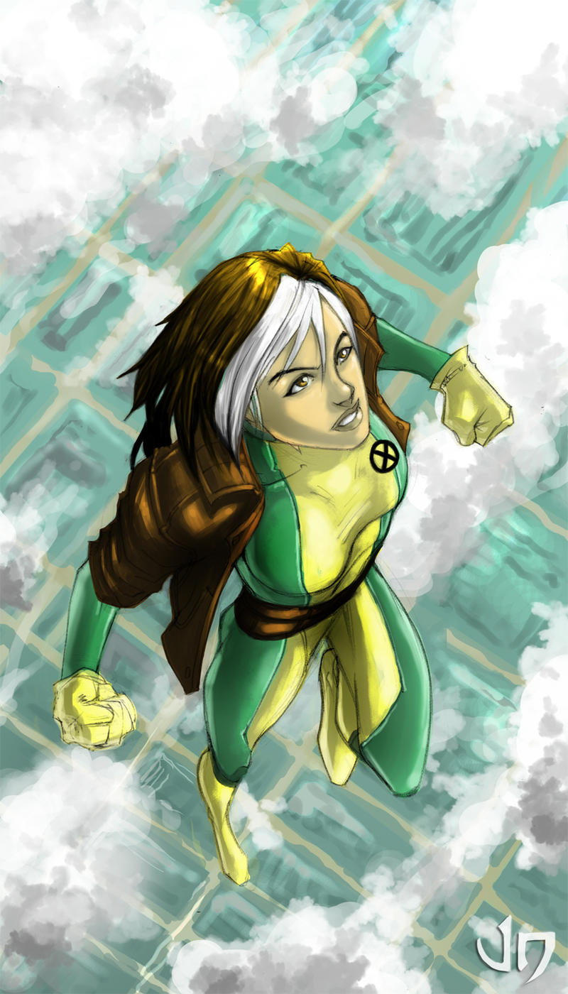Rogue Pinay by arsenalgearxx